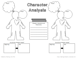 Free Character Analysis Graphic Organizer _ Relationships