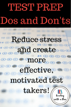 2 FREEBIES! 10 Dos and Don'ts to help you get through standardized testing this Spring without losing your mind.